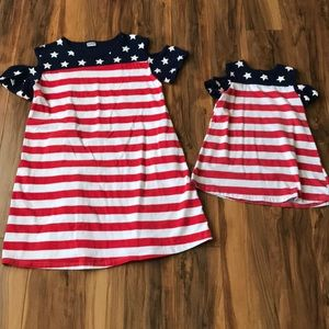 Other - Mommy & me coordinating patriotic dresses